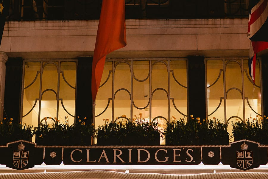 Claridges, Asian Wedding photography, exterior