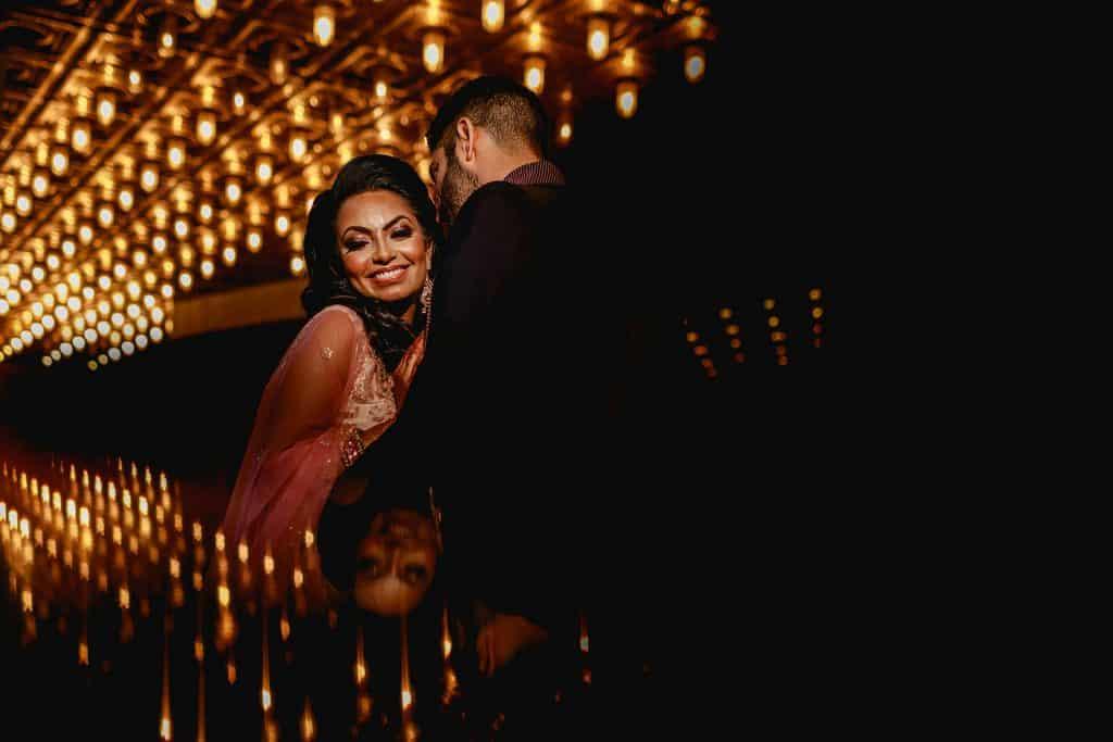 london hilton bankside wedding reception