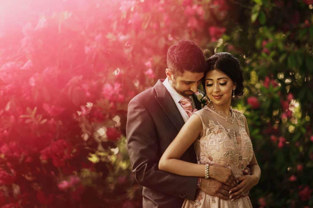 quorn grange hotel wedding portraits