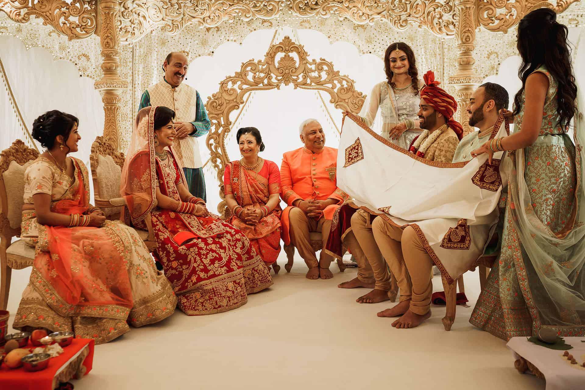 quendon hall asian wedding photographer 1