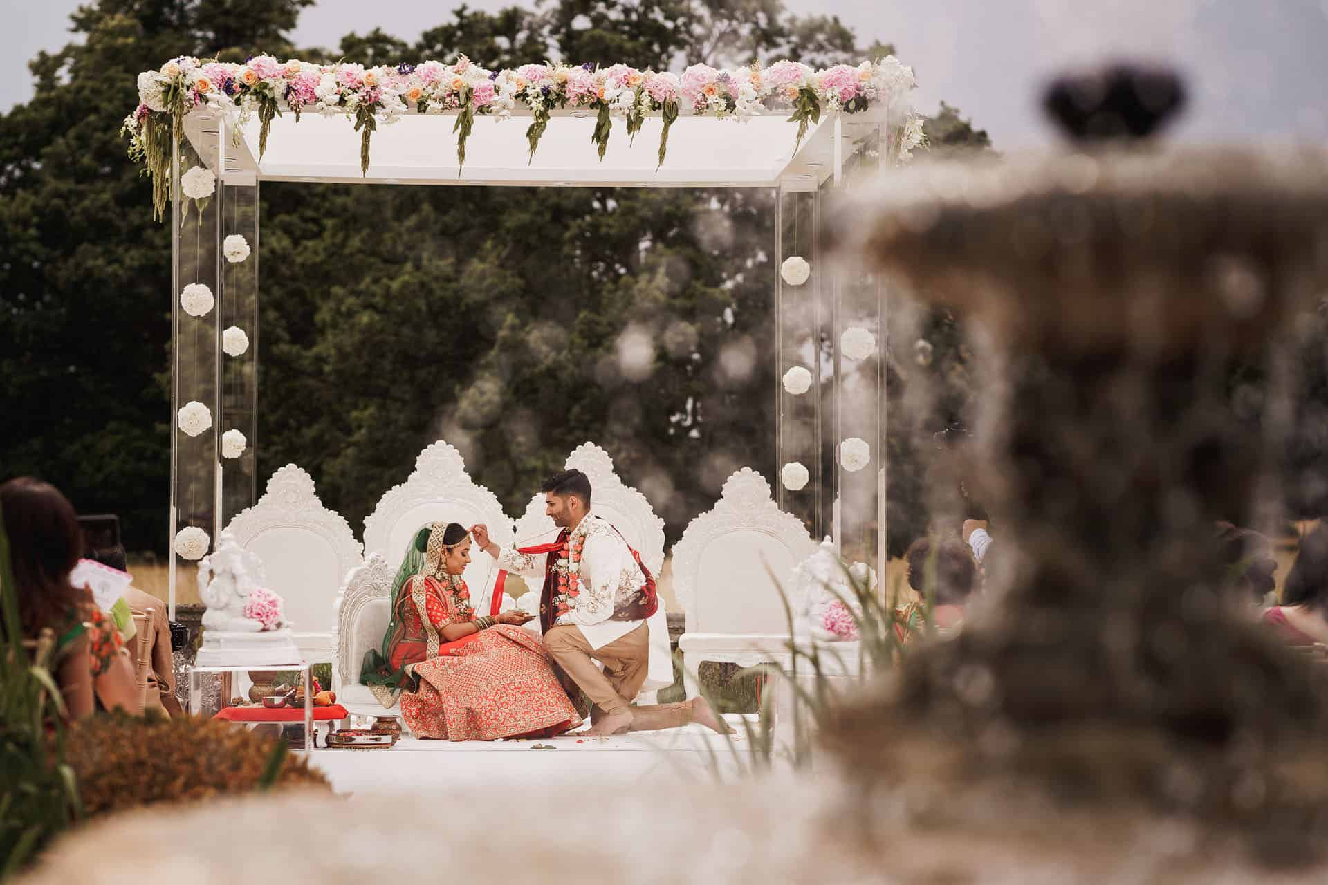 quendon parklands outdoor wedding