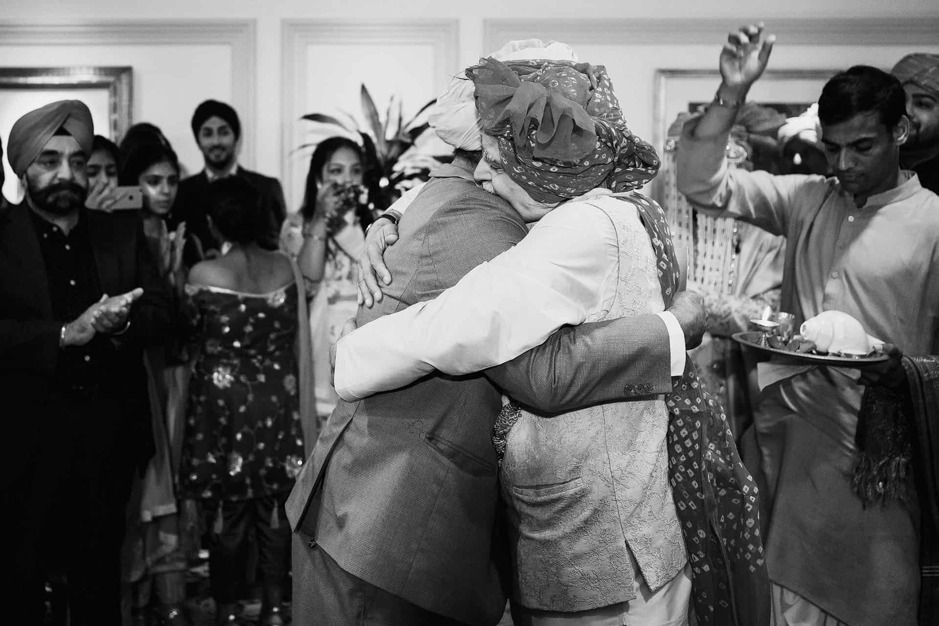 landmark hotel wedding photography