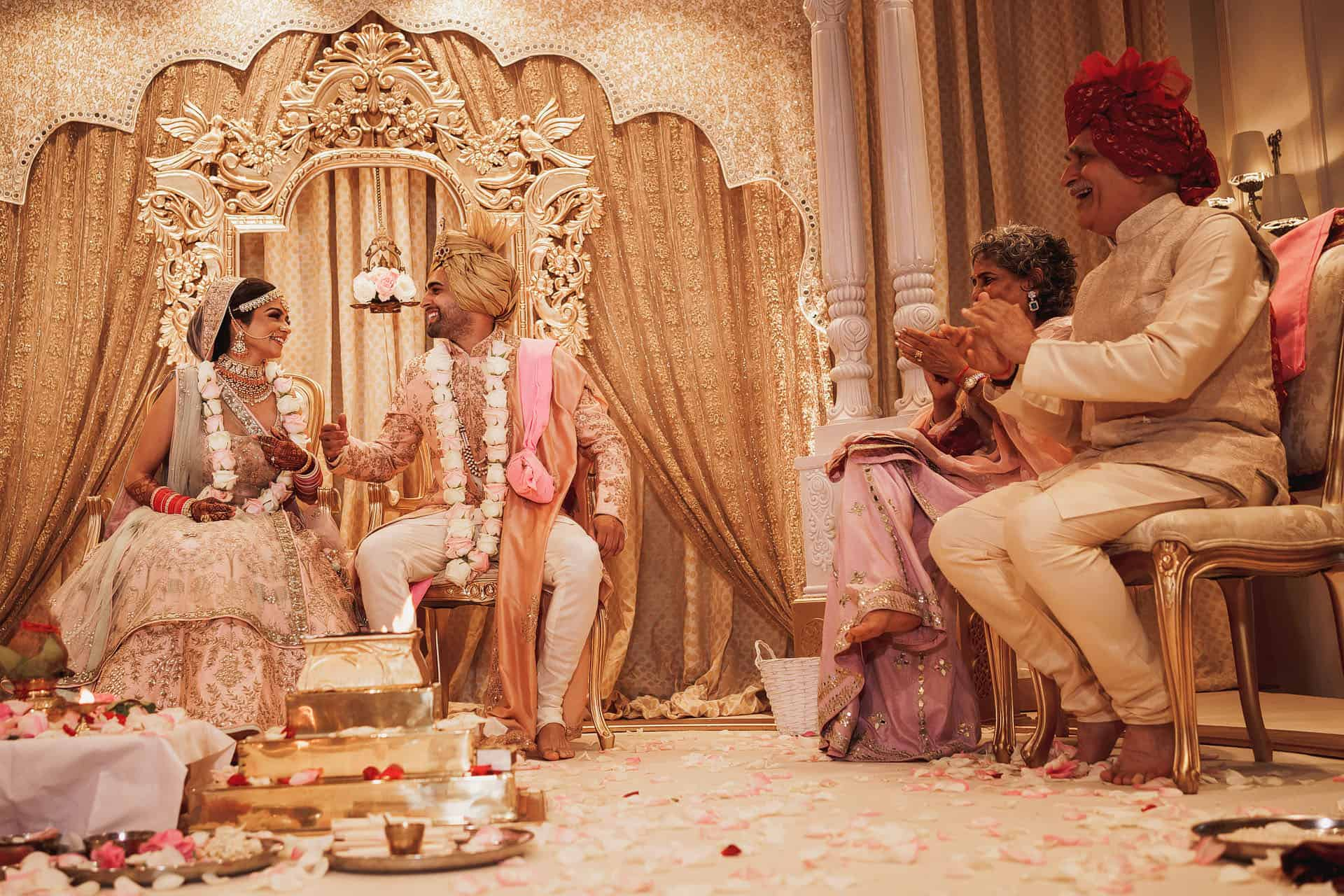 landmark hotel indian wedding photographer