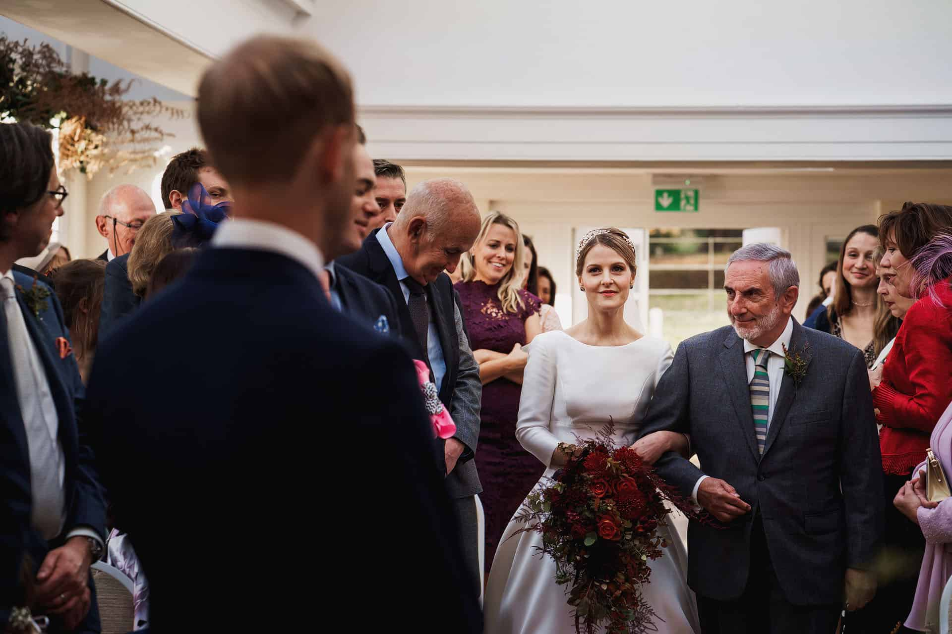pembroke lodge autumn wedding photos