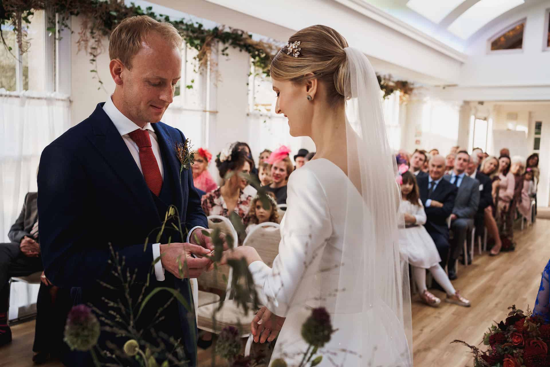 pembroke lodge autumn wedding photography