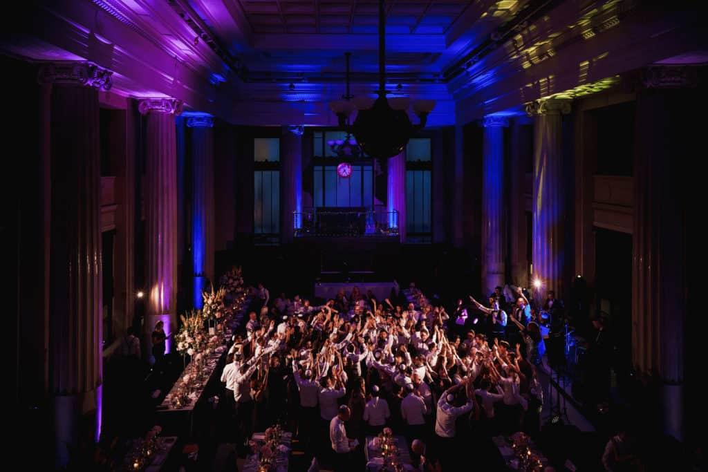 jewish wedding banking hall london