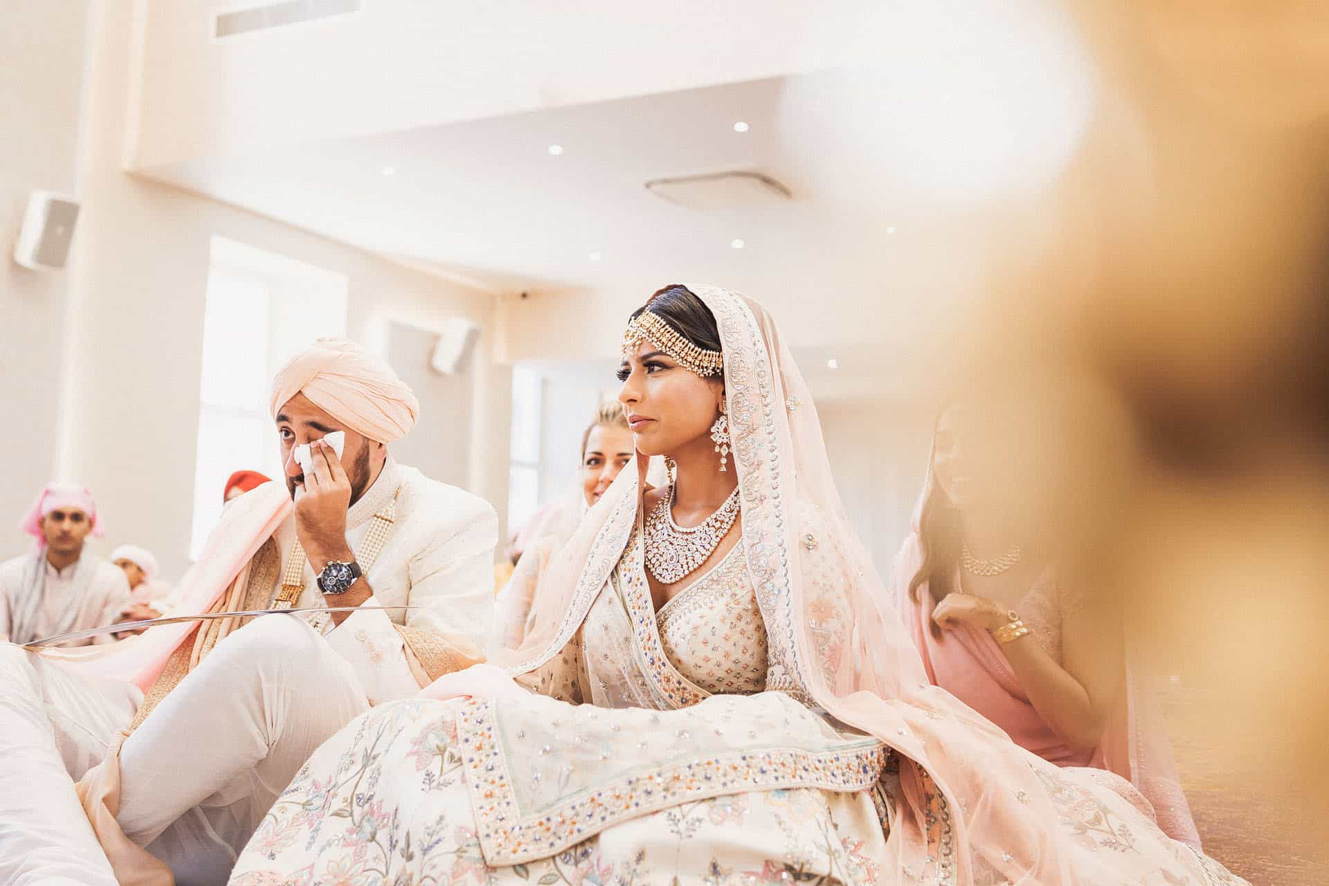 central gurdwara intimate sikh wedding