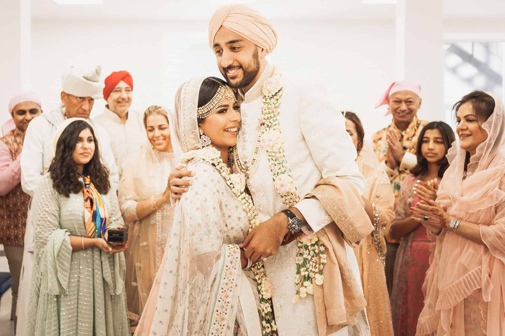 central gurdwara intimate sikh wedding photos