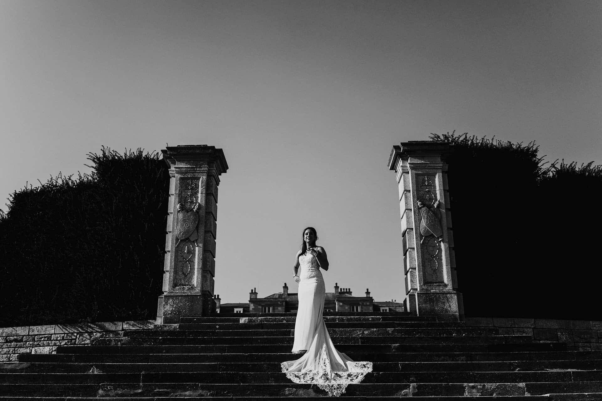 luton hoo summer wedding bedfordshire