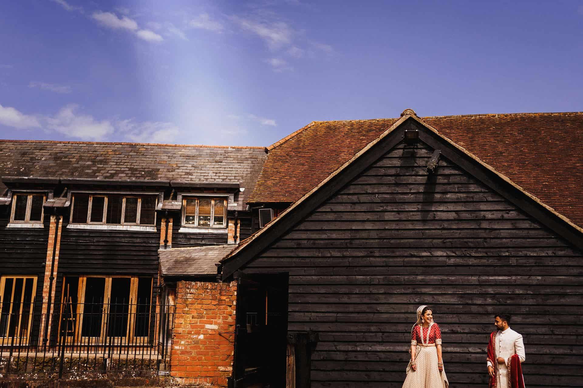 tewin bury farm civil covid wedding
